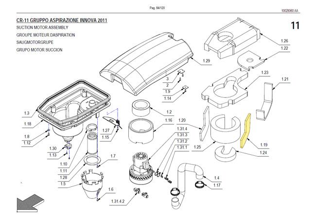 Innova Suction Motor Assembly