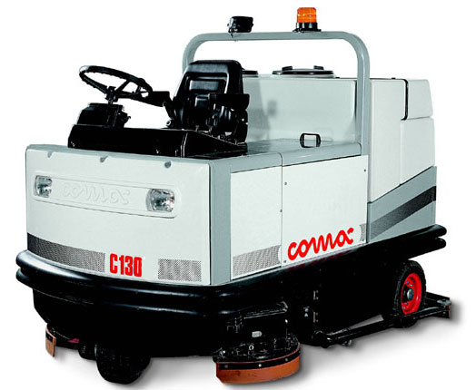 C Class Ride On Scrubber Driers